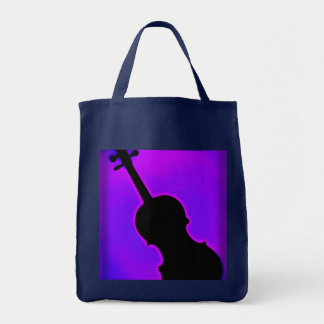 Violin Viola grocery bag or Tote Bag