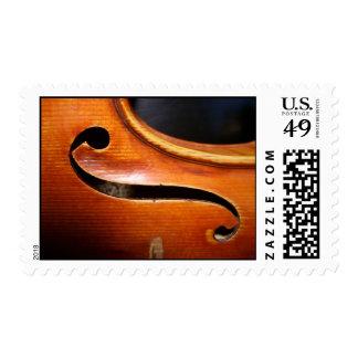 Violin Viola Postcard Postage