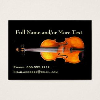 Violin/Viola Profile Card by Leslie Harlow
