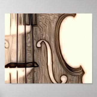¿Violín, viola, violoncelo? Póster