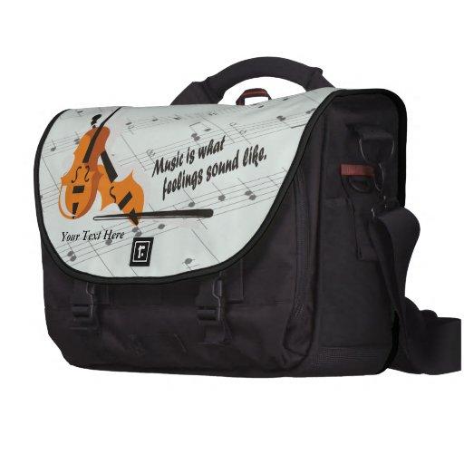 Violin - What Feelings Sound Like Laptop Bag