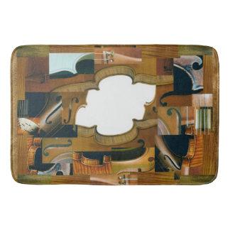 Violin Window Bath Mat