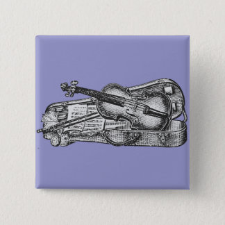 Violin with Case Button