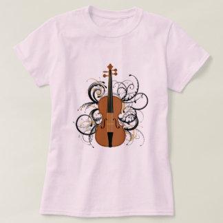 Violin with Swirls T-Shirt