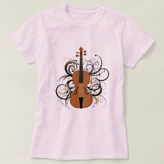 Violin with Swirls T-Shirt