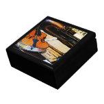 Violín y bugle caja de regalo