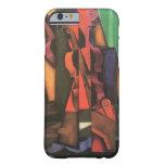Violín y guitarra de Juan Gris, arte del cubismo Funda Barely There iPhone 6
