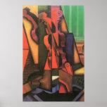 Violín y guitarra de Juan Gris, cubismo del Impresiones