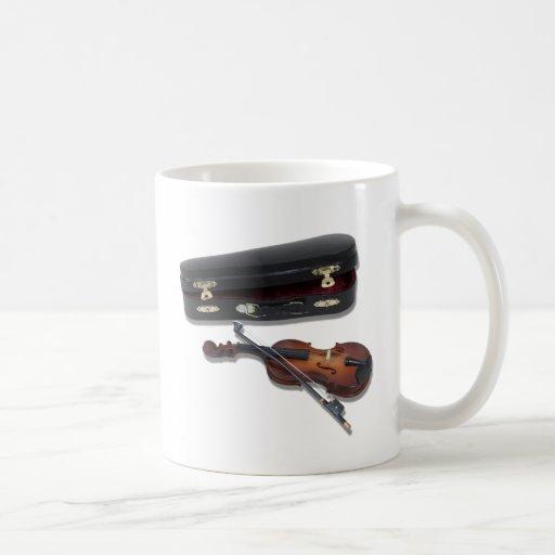 ViolinAndCase081210 Taza De Café