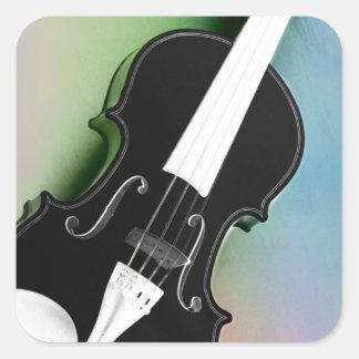 Violine phtographed por Tutti Pegatina Cuadrada
