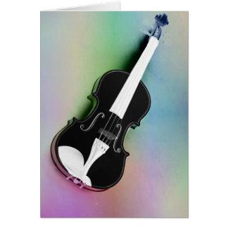 Violine phtographed por Tutti Tarjeta De Felicitación