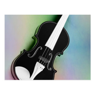 Violine phtographed por Tutti Postal