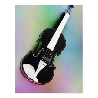 Violine phtographed por Tutti Tarjeta Postal
