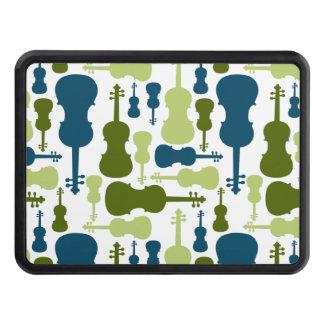 Violines - azules y modelo verde tapas de tráiler