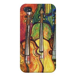 Violines iPhone 4 Protectores