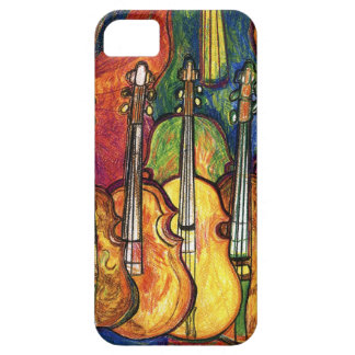 Violines Funda Para iPhone 5 Barely There