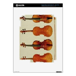 "Violines (LtoR): el ""Alard"" por Antonio Stradivari Pegatinas Skins Para iPad 3"