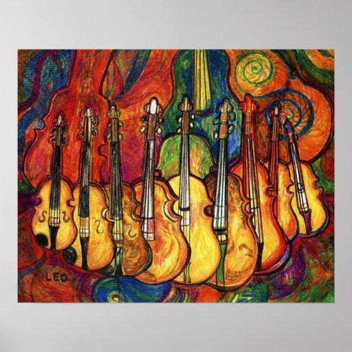 Violines Póster