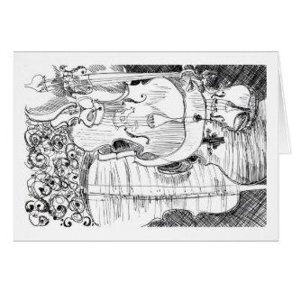 """""""Violini"""" - Debby Wang Felicitación"""