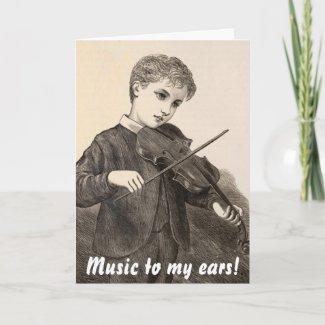violinist card