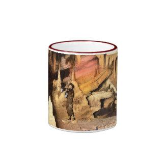 Violinist ENDLESS CAVERNS VA Vintage 1928 Mug