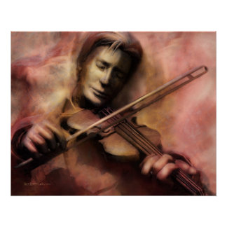 Violinist Posters