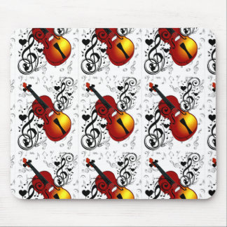 Violinist,Rock the House_ Mouse Pad