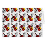 Violinist,Rock the House_ Stationery Note Card