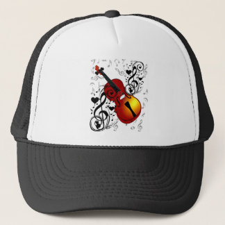 Violinist,Rock the House_ Trucker Hat