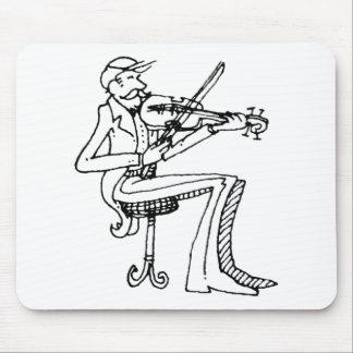 violinista del davholle tapete de raton
