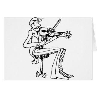 violinista del davholle tarjetón