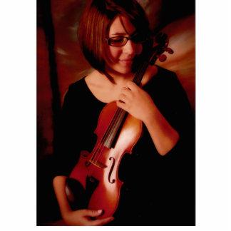 Violinista Esculturas Fotográficas