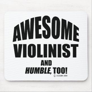 Violinista impresionante alfombrilla de raton