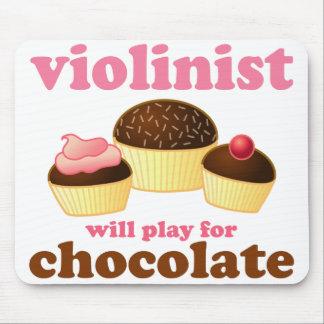 Violinista lindo Mousepad