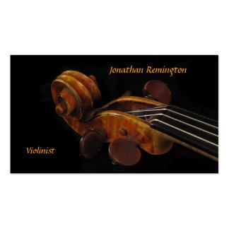 Violinista Tarjeta De Visita