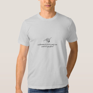 Violinists do it over and over until it's perfect! t shirt