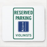 Violinists Parking Mousepad