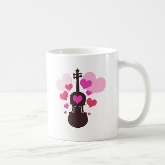 violinlove coffee mug