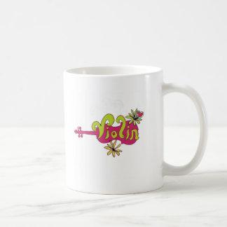 violinplayer coffee mug