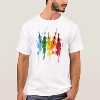 Violins background T-Shirt