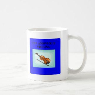 VIOLINS COFFEE MUG