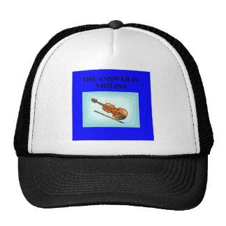 VIOLINS HAT