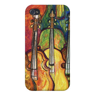 Violins iPhone 4 Covers