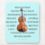 Violist Composers Mouse Pad