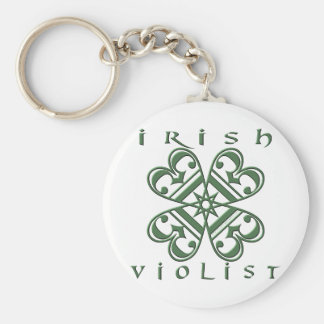 Violist irlandés llaveros