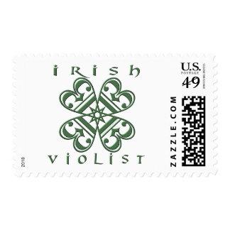 Violist irlandés franqueo