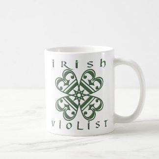 Violist irlandés taza