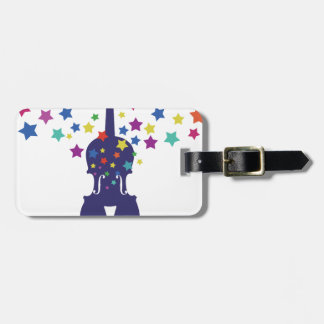 Violn Star Tote Bag, Keychains or Button Bag Tags