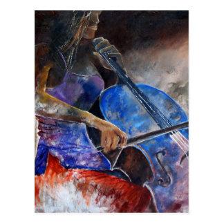 violoncelo 560308 postal