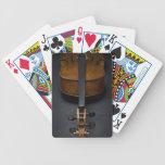 Violoncelo antiguo cartas de juego